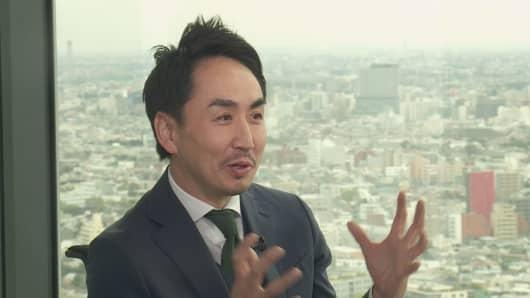 Takeshi Idezawa, Line CEO.